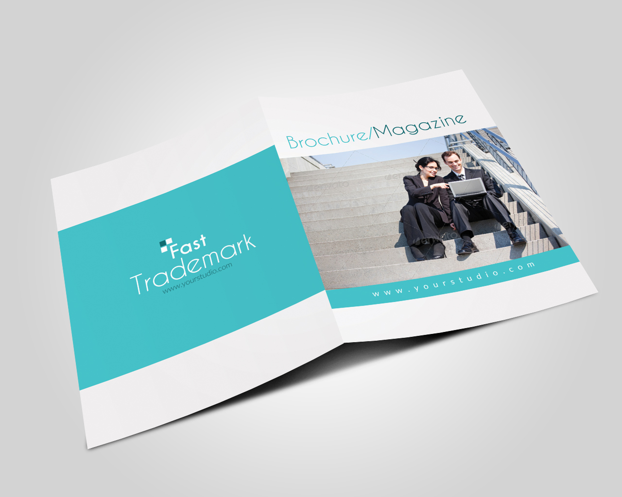 12 Pages Professional Business Bifold Brochure example image 2