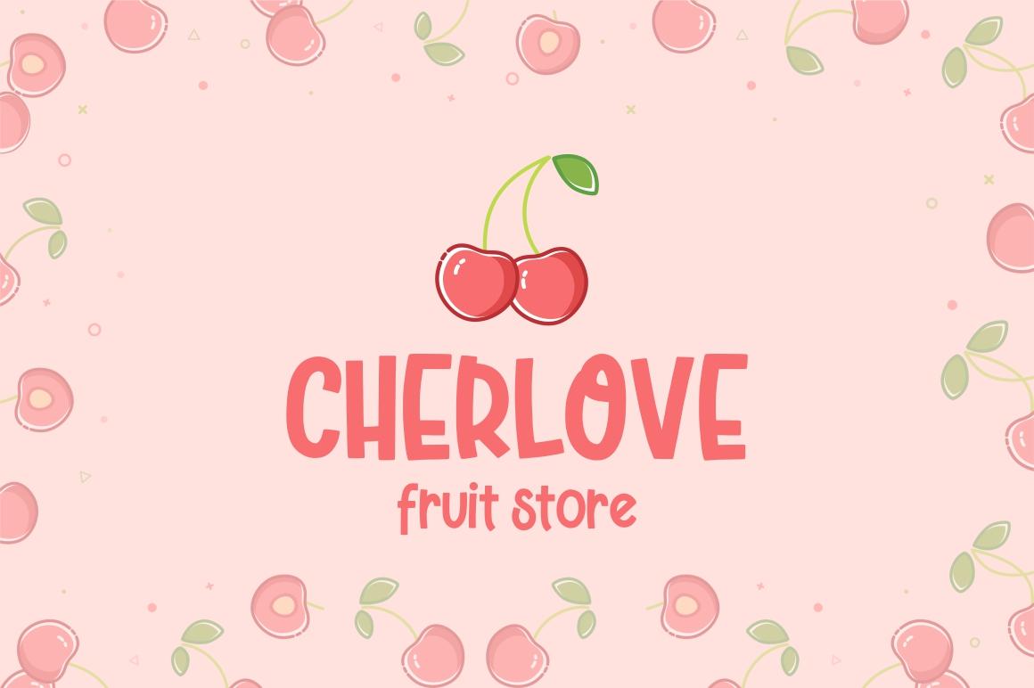 Cherry Bell - Freshty Font example image 4