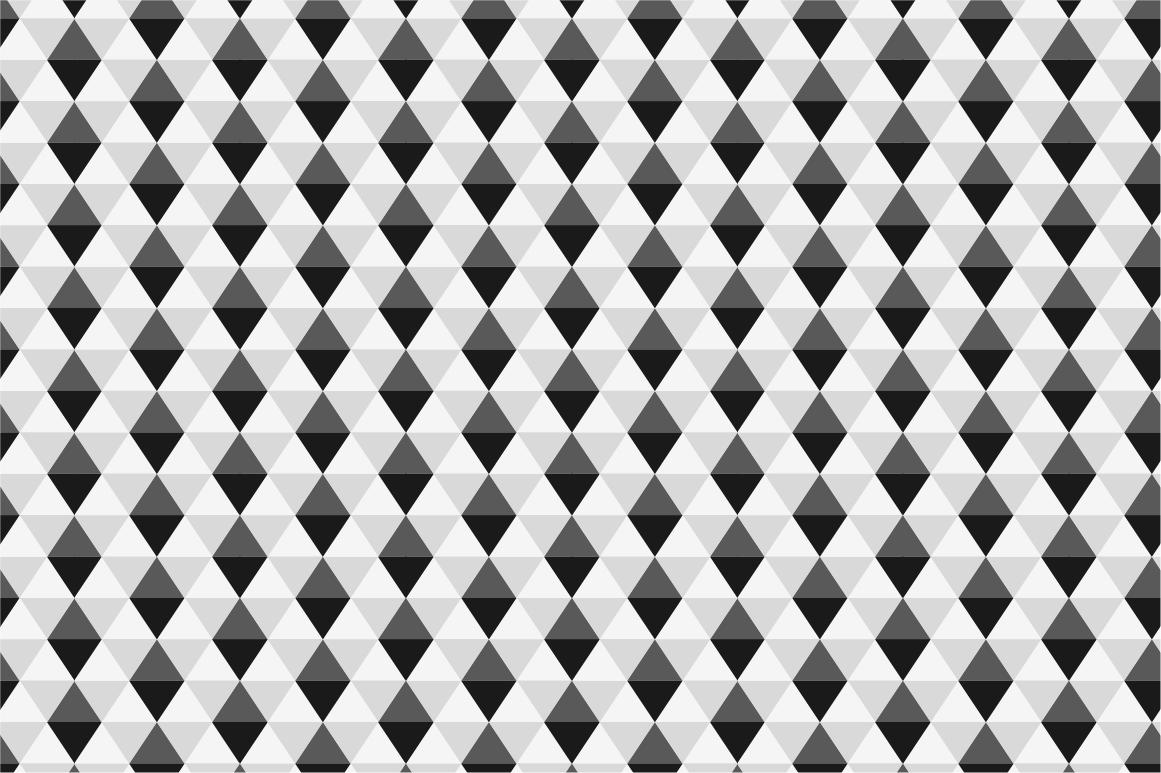 Geometric seamless patterns example image 4