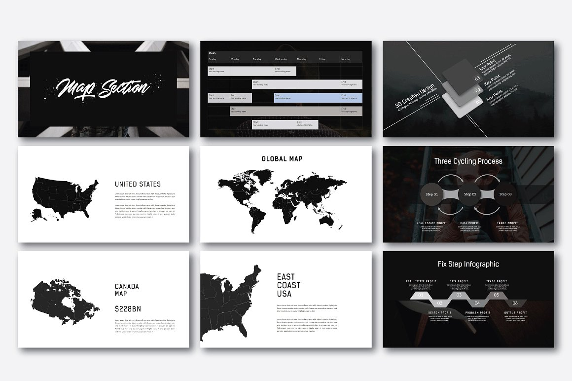 Hipstyle Multipurpose Powerpoint example image 9