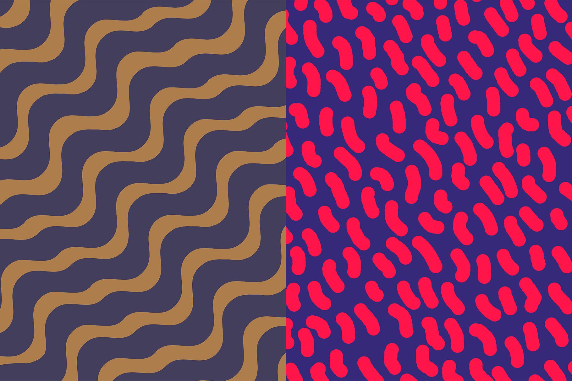 10 Geometric and Liquid Pattern example image 9