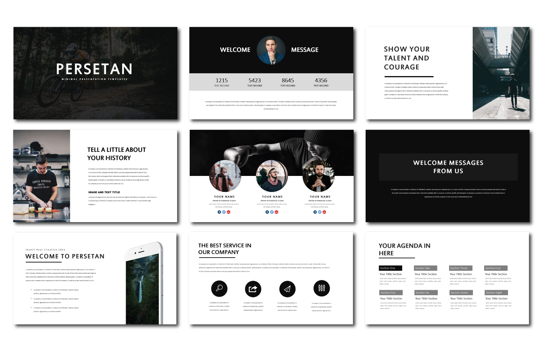 Persetan Multipurpose KeynoteTemplates example image 2