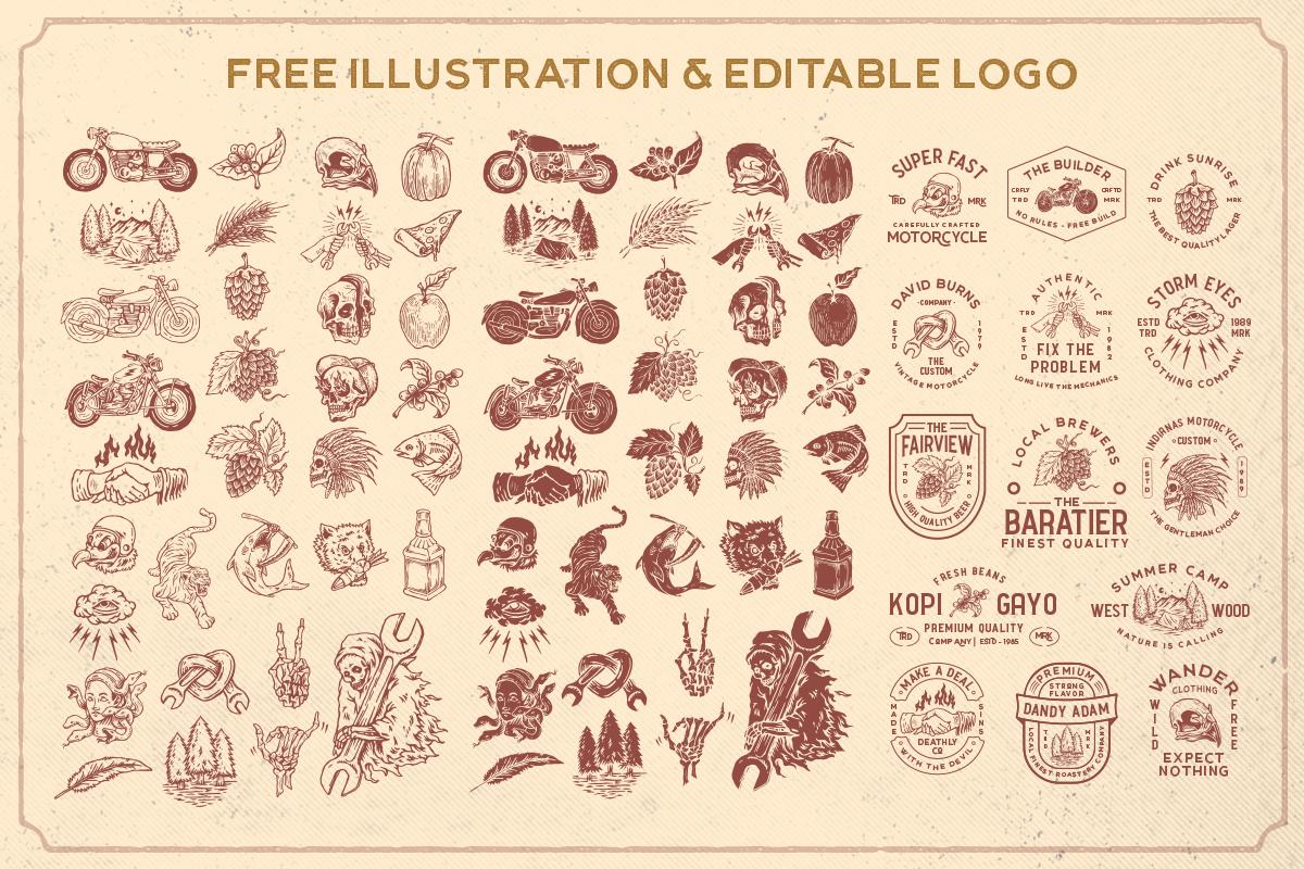 Ultralife Typeface example image 10