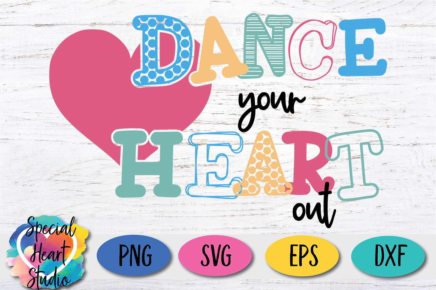 Dance Your Heart Out - Dance SVG example image 2