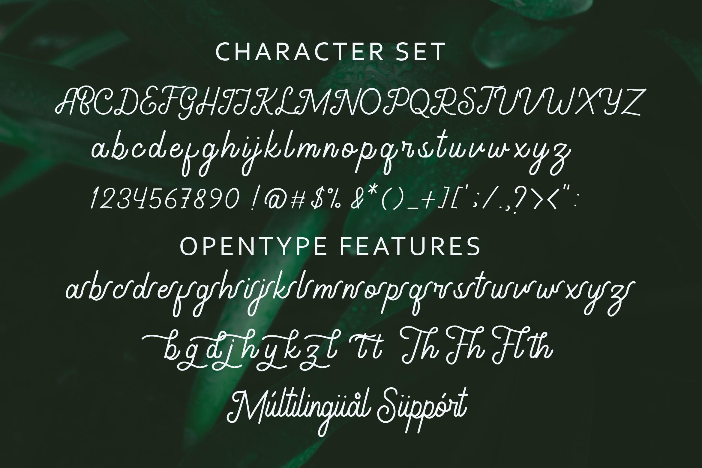 Gathenbury Font example image 8