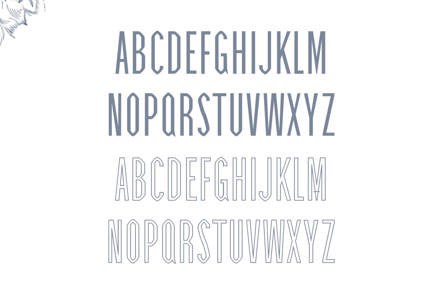 Cabales Duo Font | Bonus Freebie example image 3