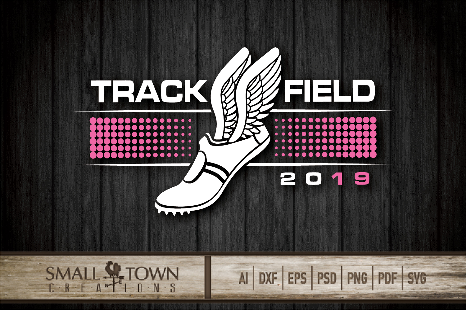 Track and Field, Team sport, Track logo, PRINT, CUT, DESIGN example image 5