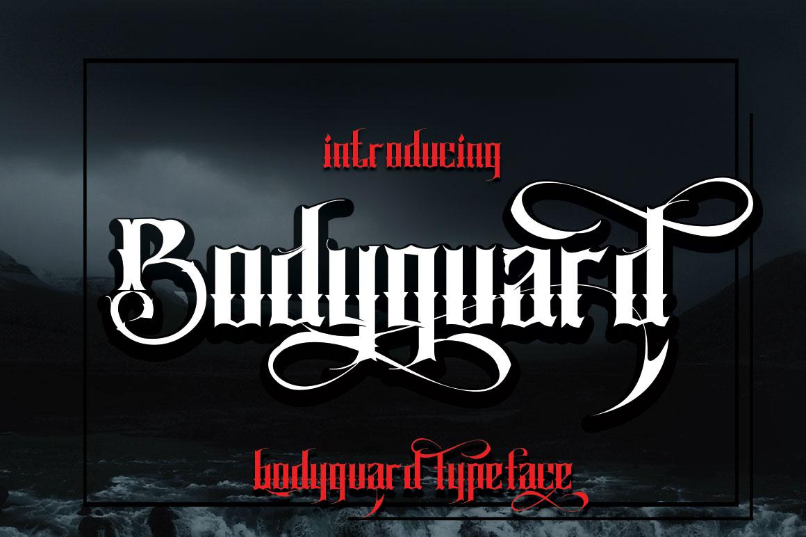 Bodyguard example image 4