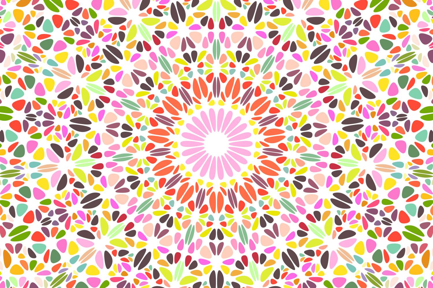 48 Floral Mandala Backgrounds example image 3