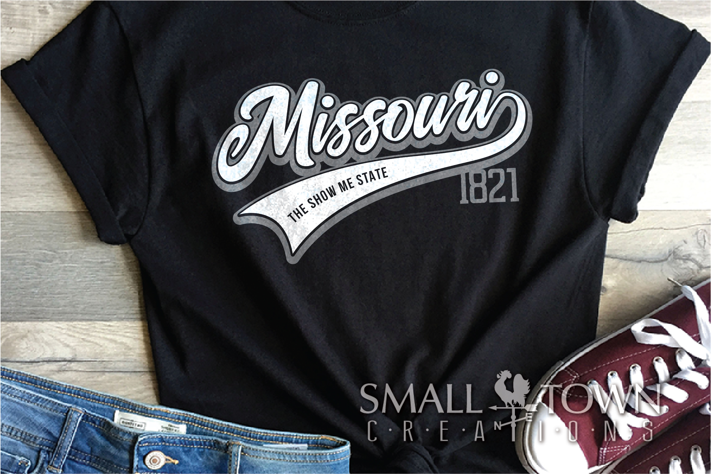 Missouri, State, The show me state, PRINT, CUT & DESIGN example image 11