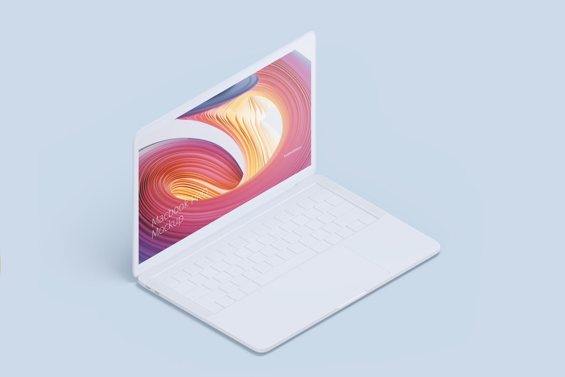 Macbook PRO Creative Mockup example image 7