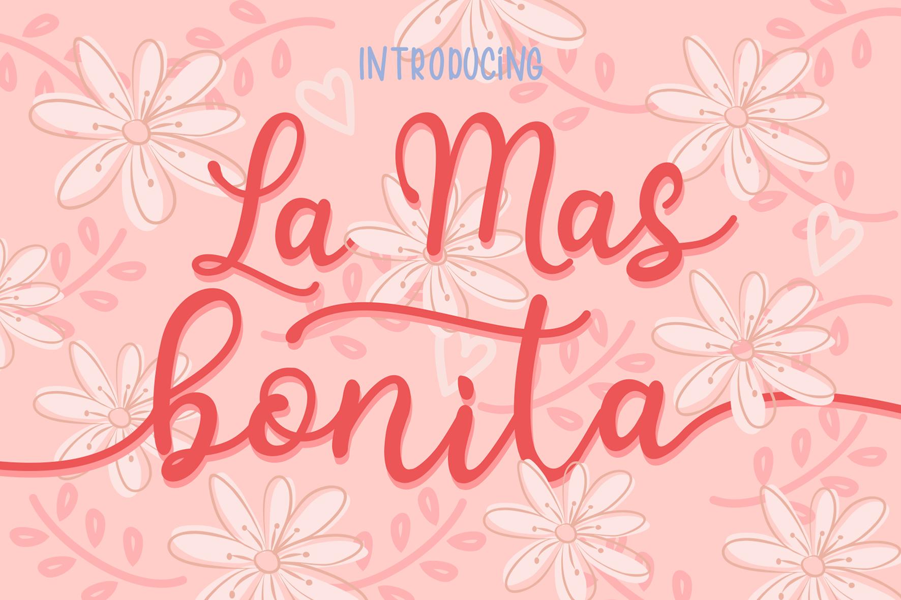 La Mas Bonita example image 1