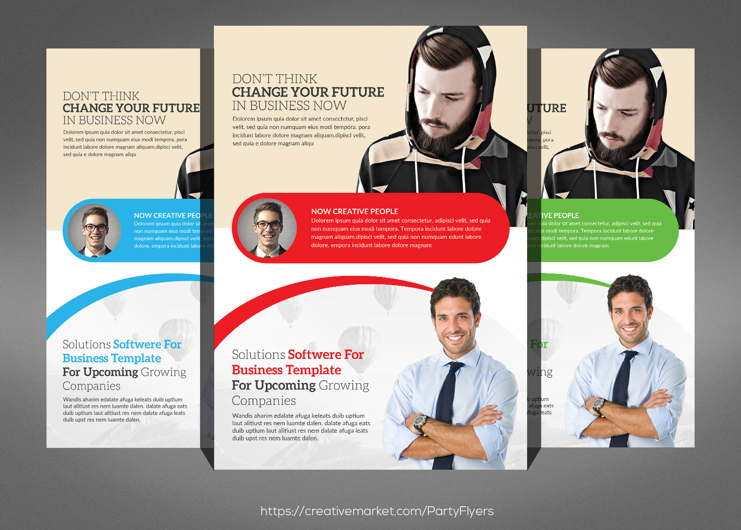 5 Business Flyer Bundle example image 4
