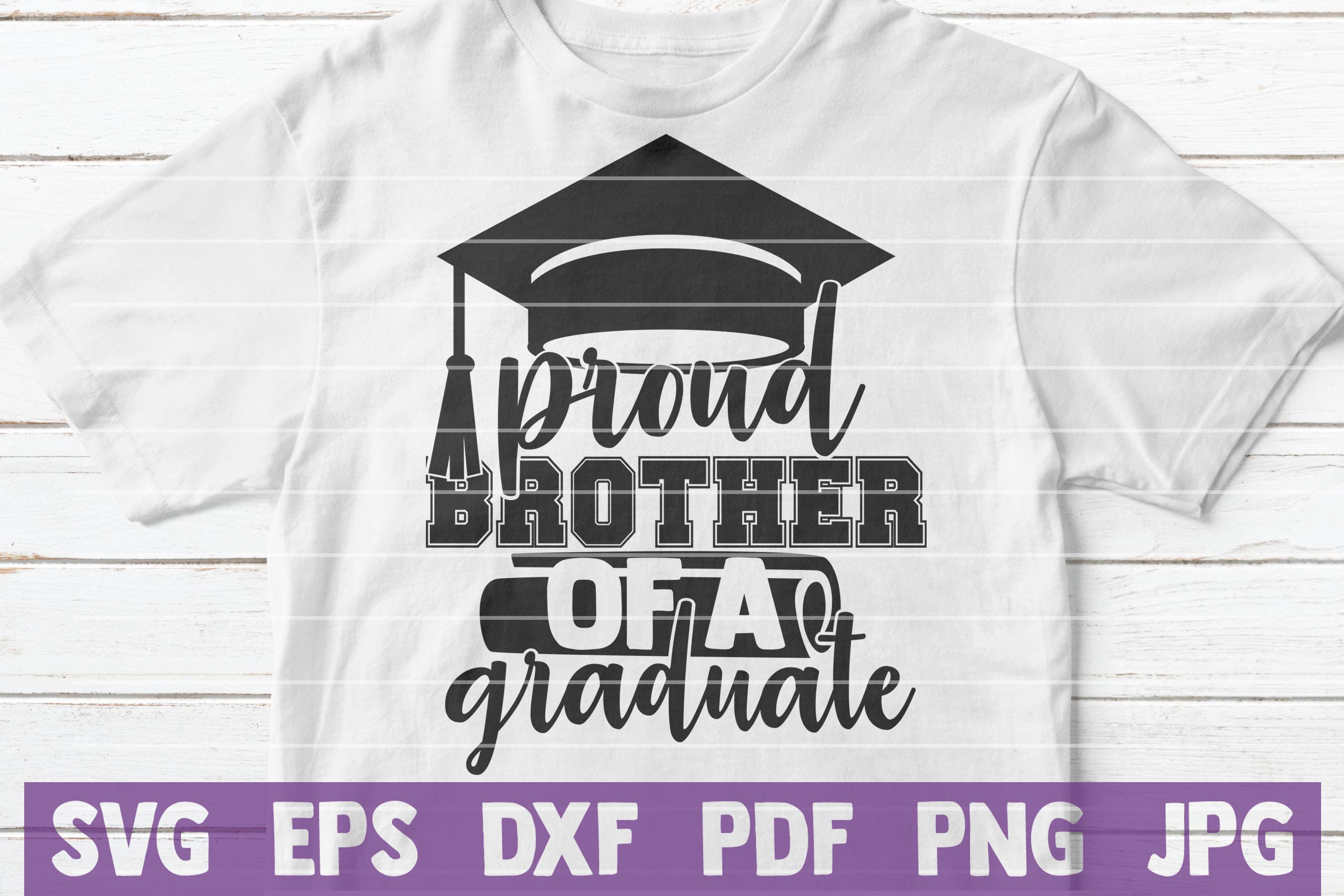 Proud Graduation SVG Bundle example image 4