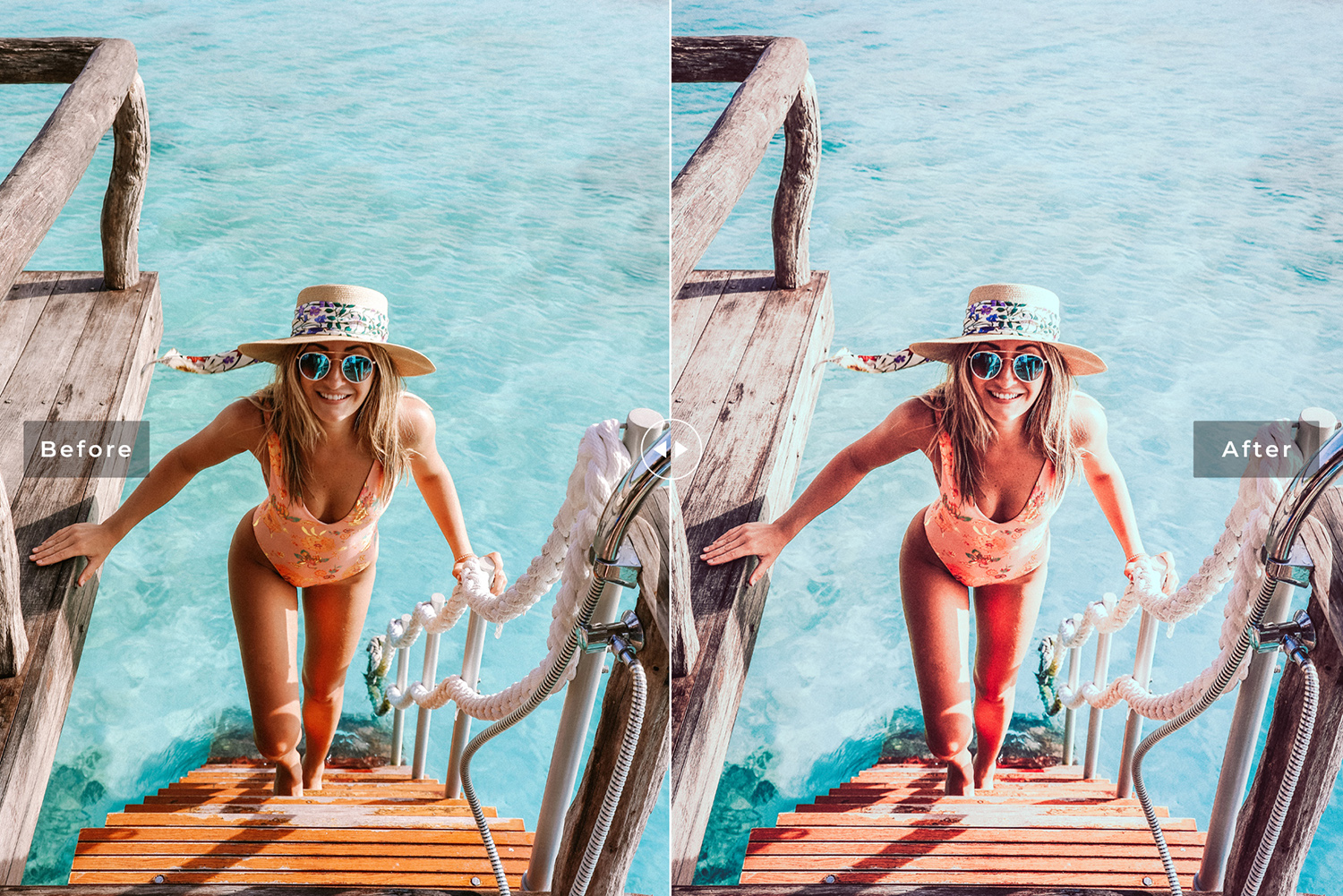 Cabana Beach Mobile & Desktop Lightroom Presets example image 6