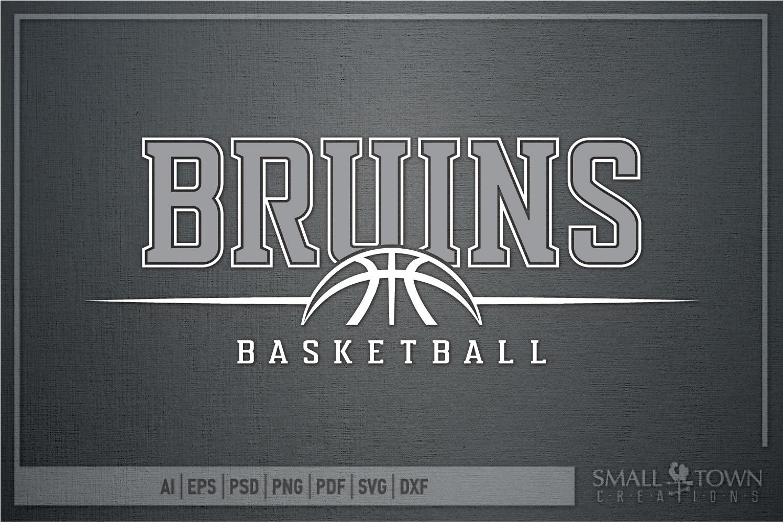 Bruin, Bruin Basketball, Bruin mascot, PRINT, CUT, DESIGN example image 5