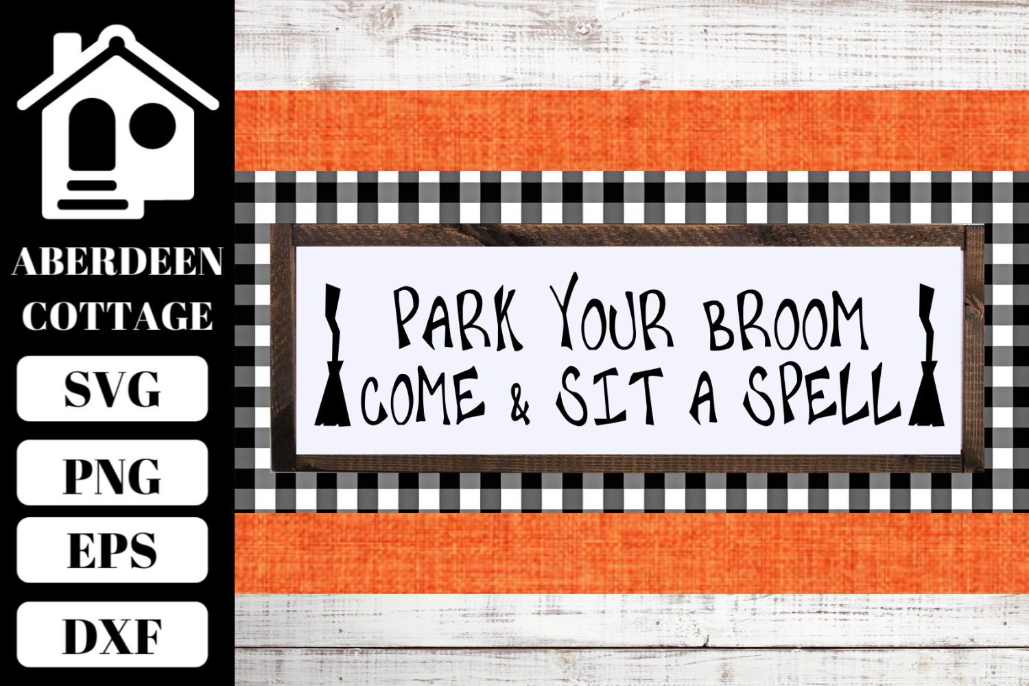 Park Your Broom SVG example image 1