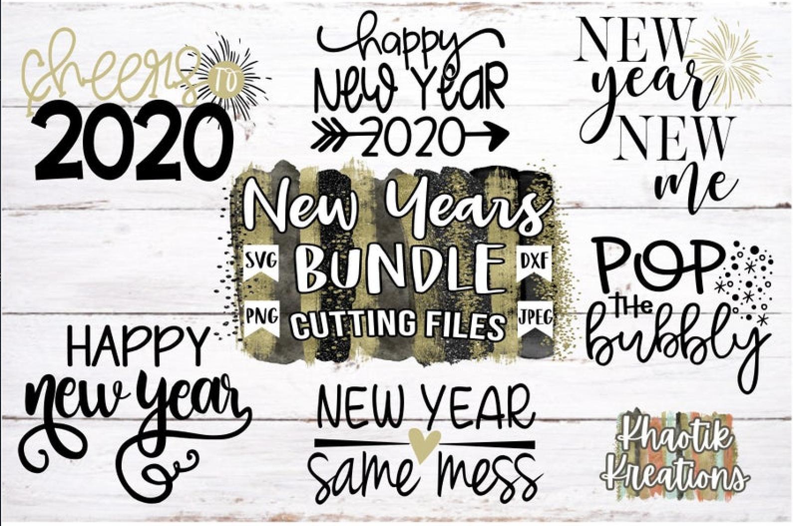 New Year's 2020 Bundle example image 2