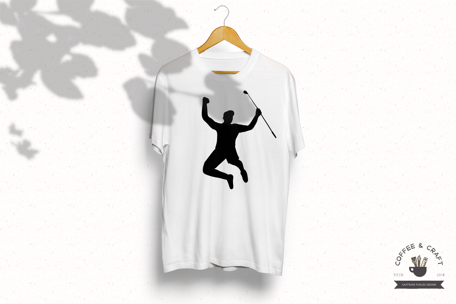 Golfer silhouettes example image 3