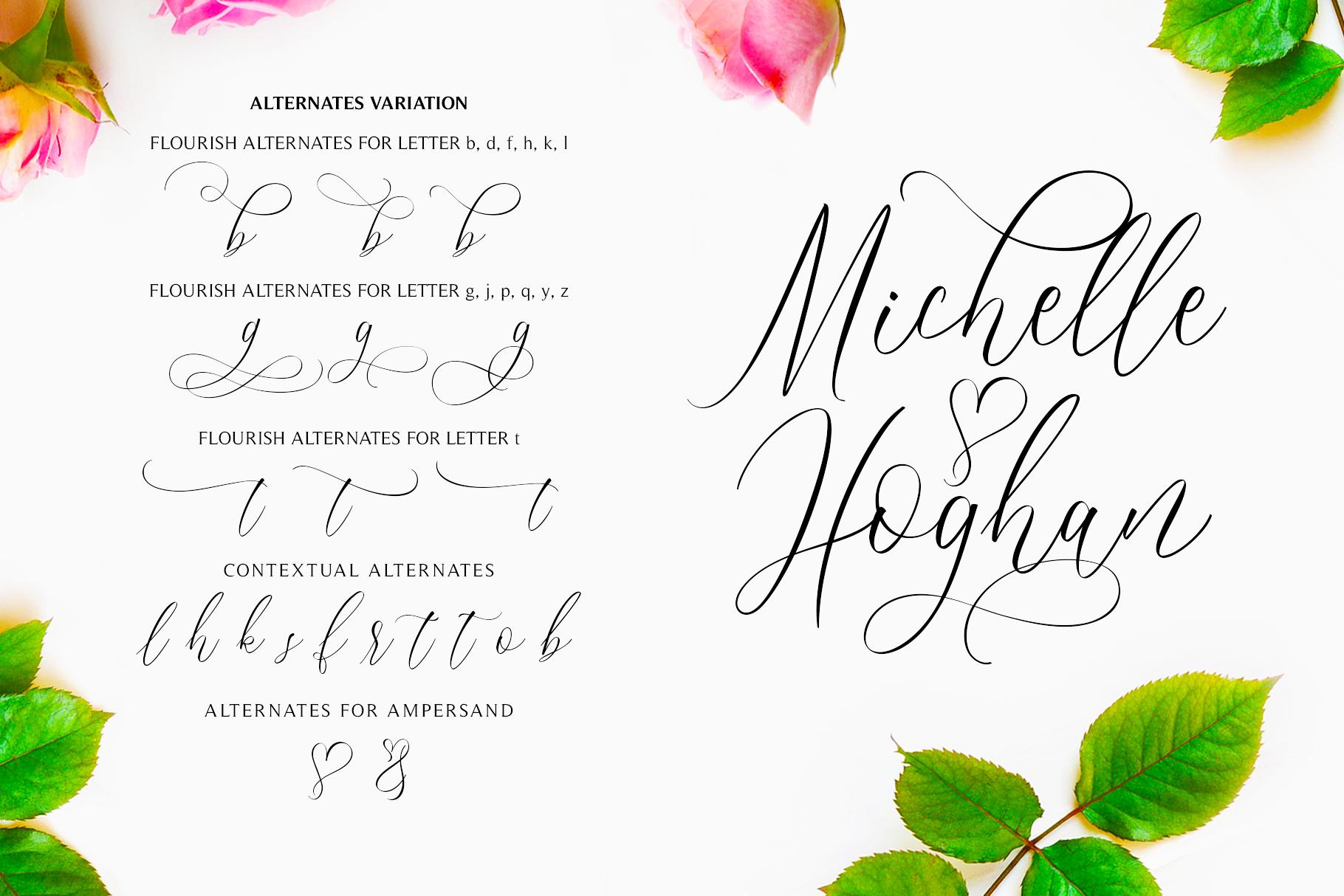 Bridgesty - Wedding Font example image 2