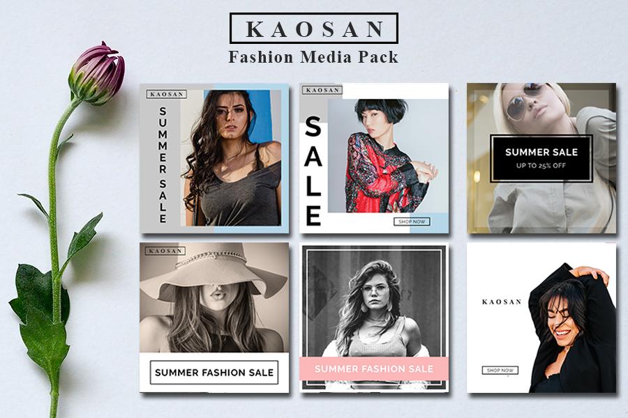 Fashion Media Instagram Banner Vol 3 example image 1