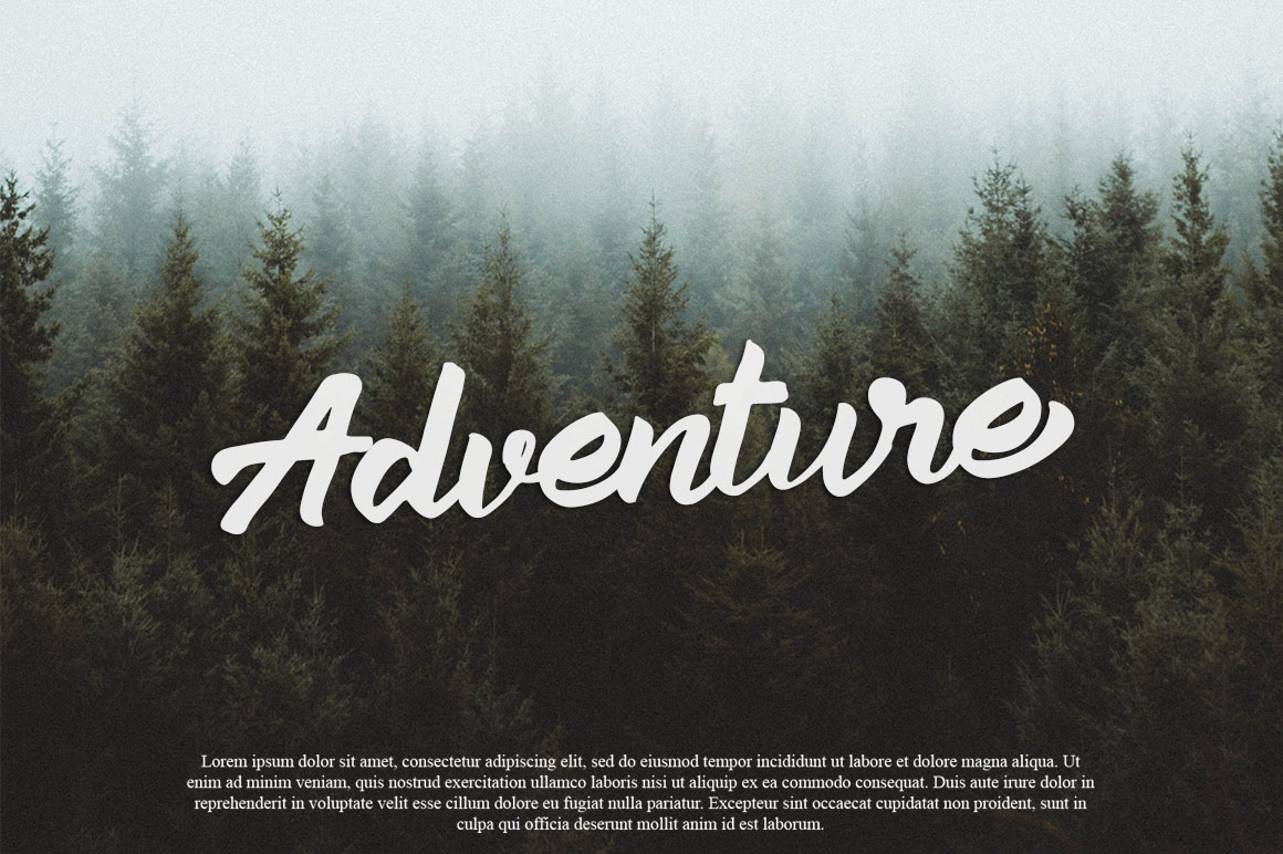 Aleena Handlettering Font example image 5