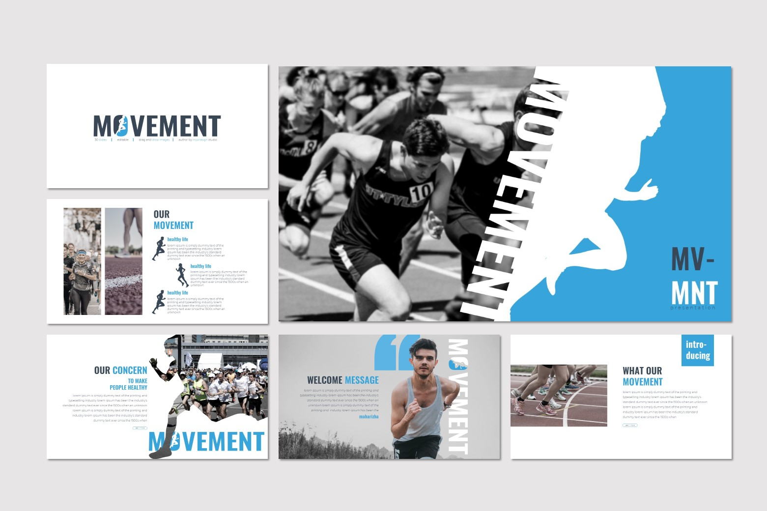 Movement - Keynote Template example image 2