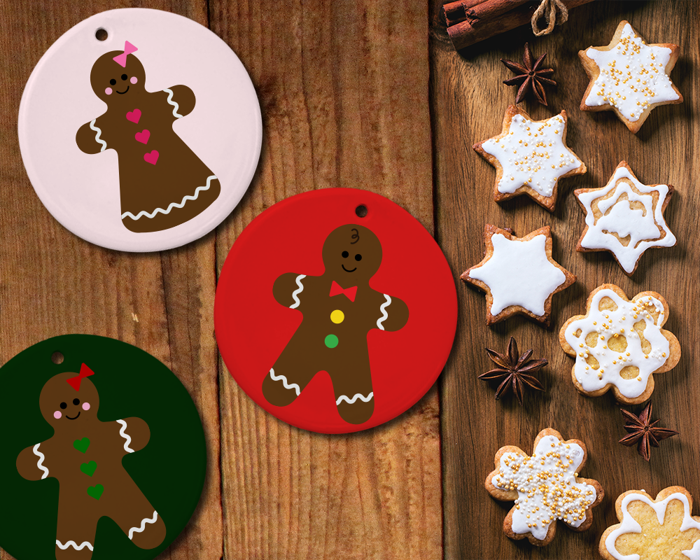 Gingerbread Boy And Girl Svg File Cutti Design Bundles