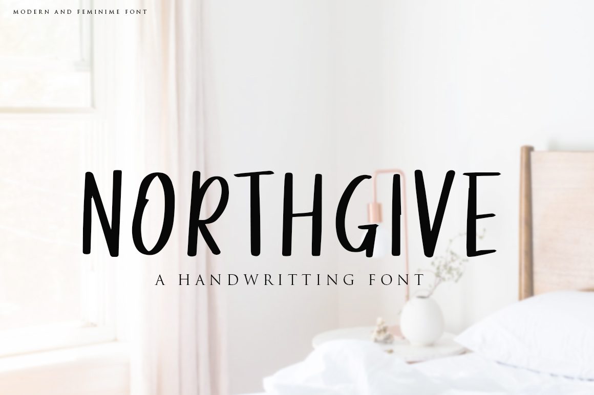 Northgive Font example image 1