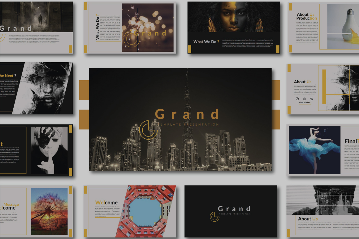 Grand Keynote Template example image 1