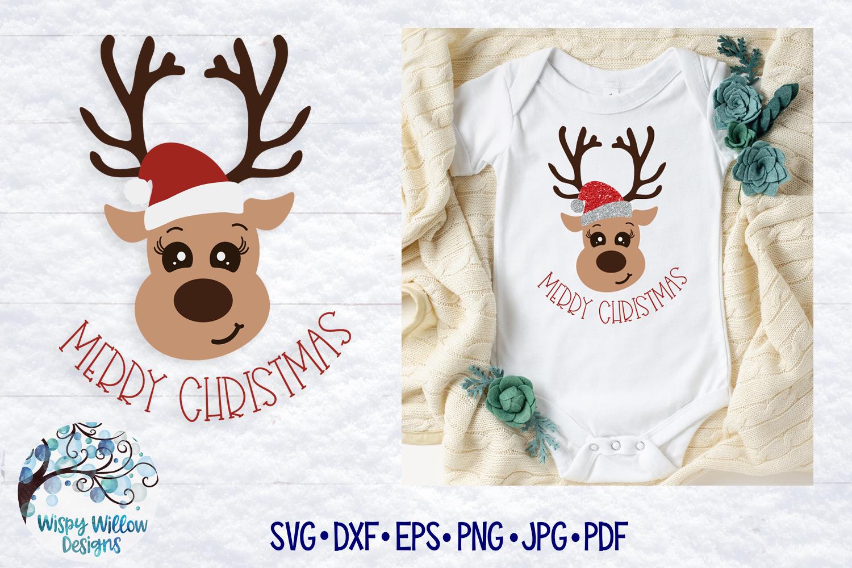 Christmas Reindeer Svg Merry Christmas Svg Cut File