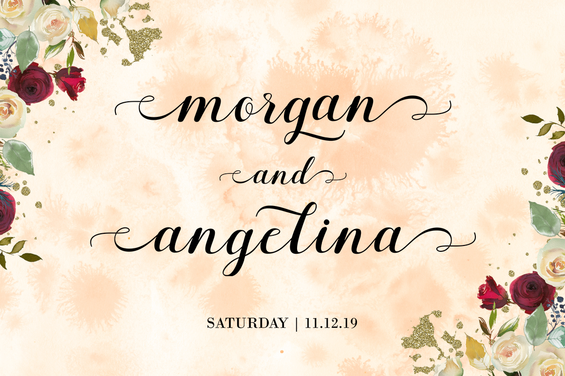 Margaretha Script example image 7