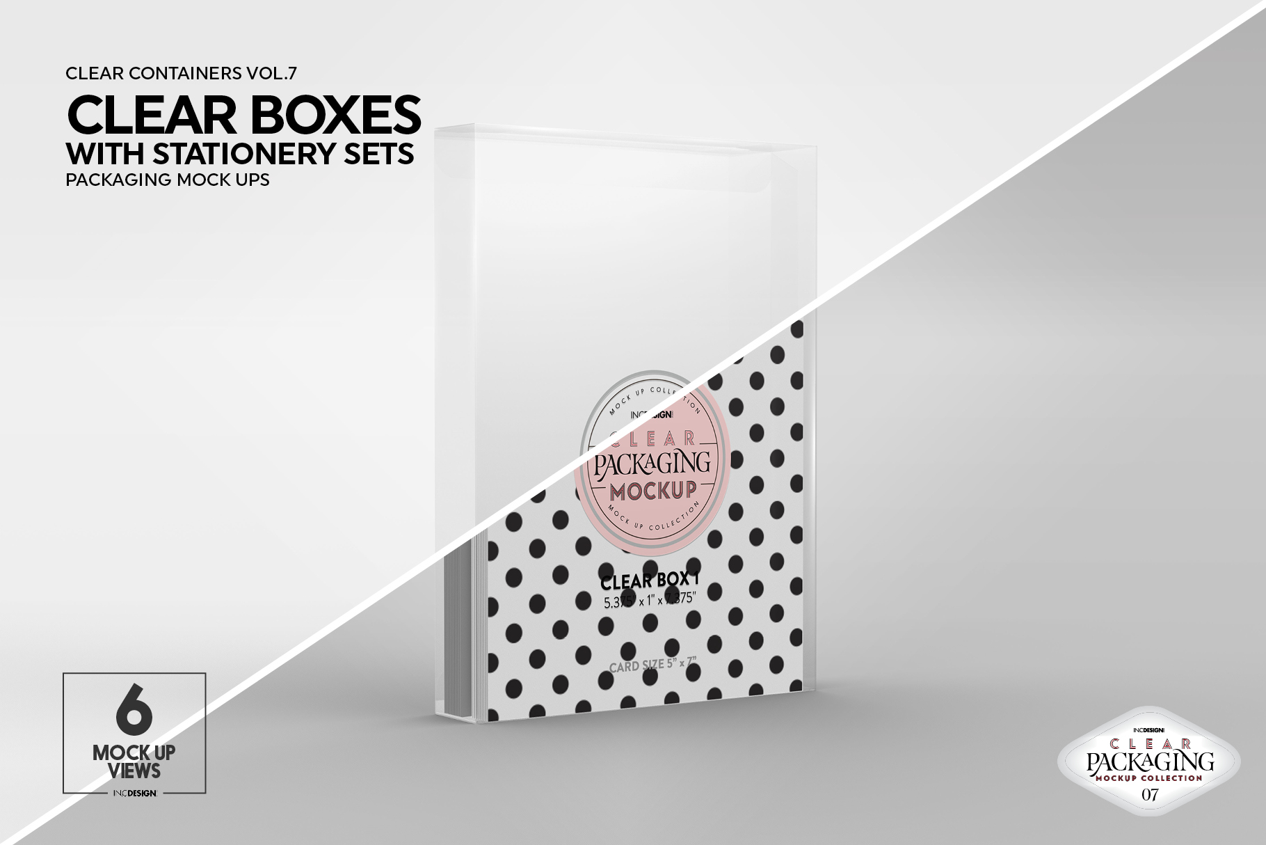 VOL.7 Clear Packaging Mockup Collection example image 12