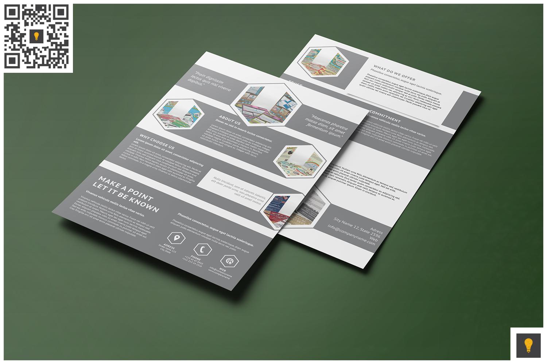 Corporate Hive Print Bundle example image 10