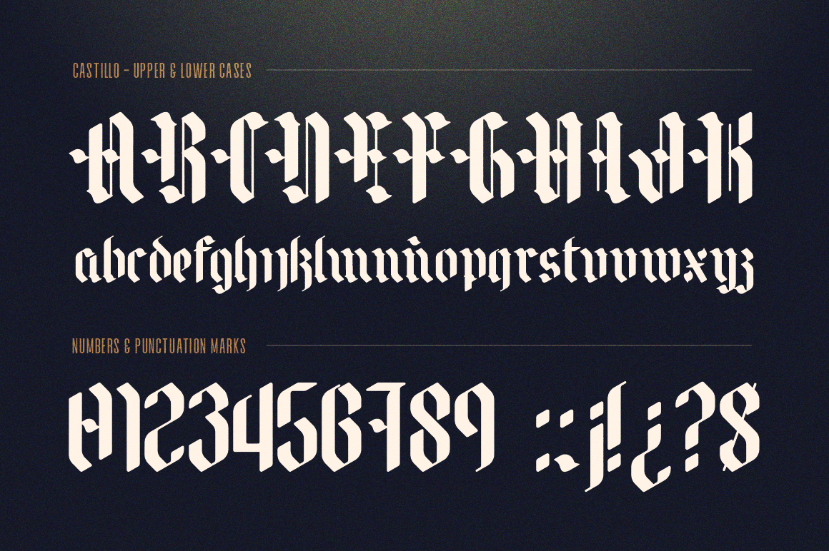 Castillo - Blackletter example image 2