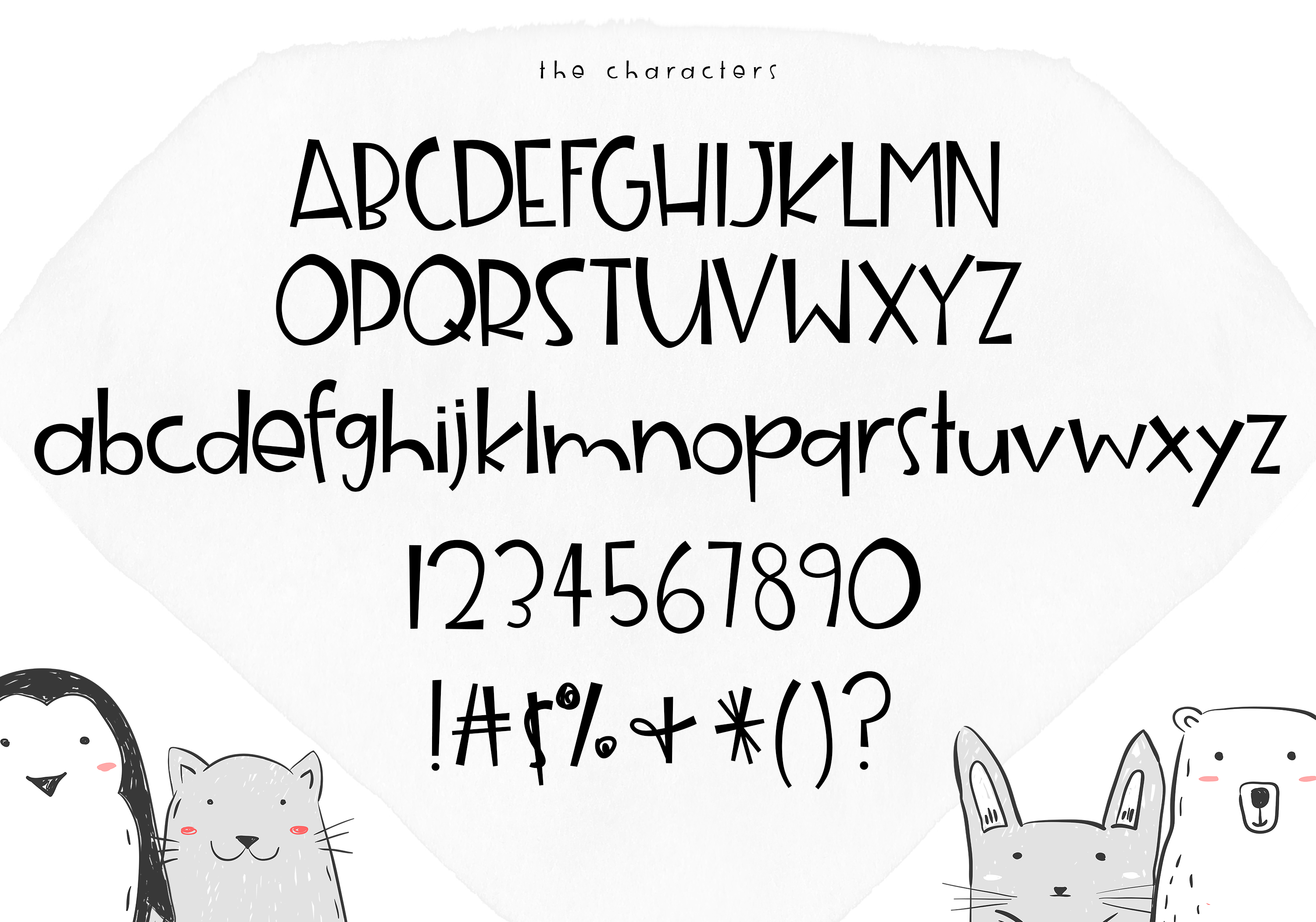 Animal Crackers - A Fun Handwritten Font example image 10