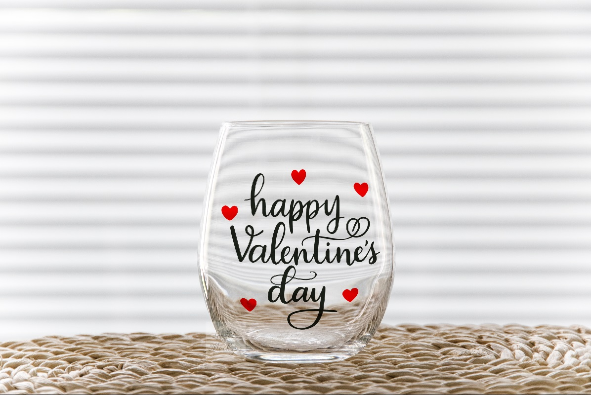 PSD Stemless wine glass tumbler mockup wineglass mock up example image 9