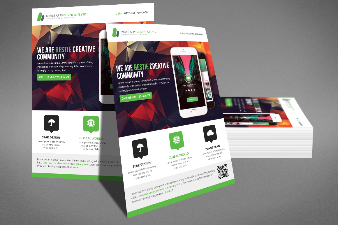 Corporate Flyer / Business Flyer Template example image 3