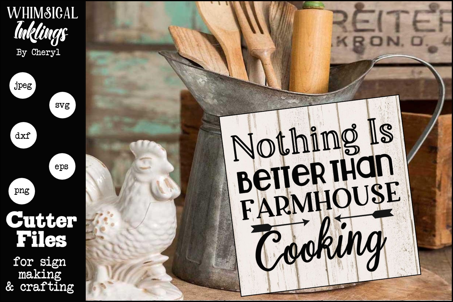 Farmhouse Cooking SVG example image 2