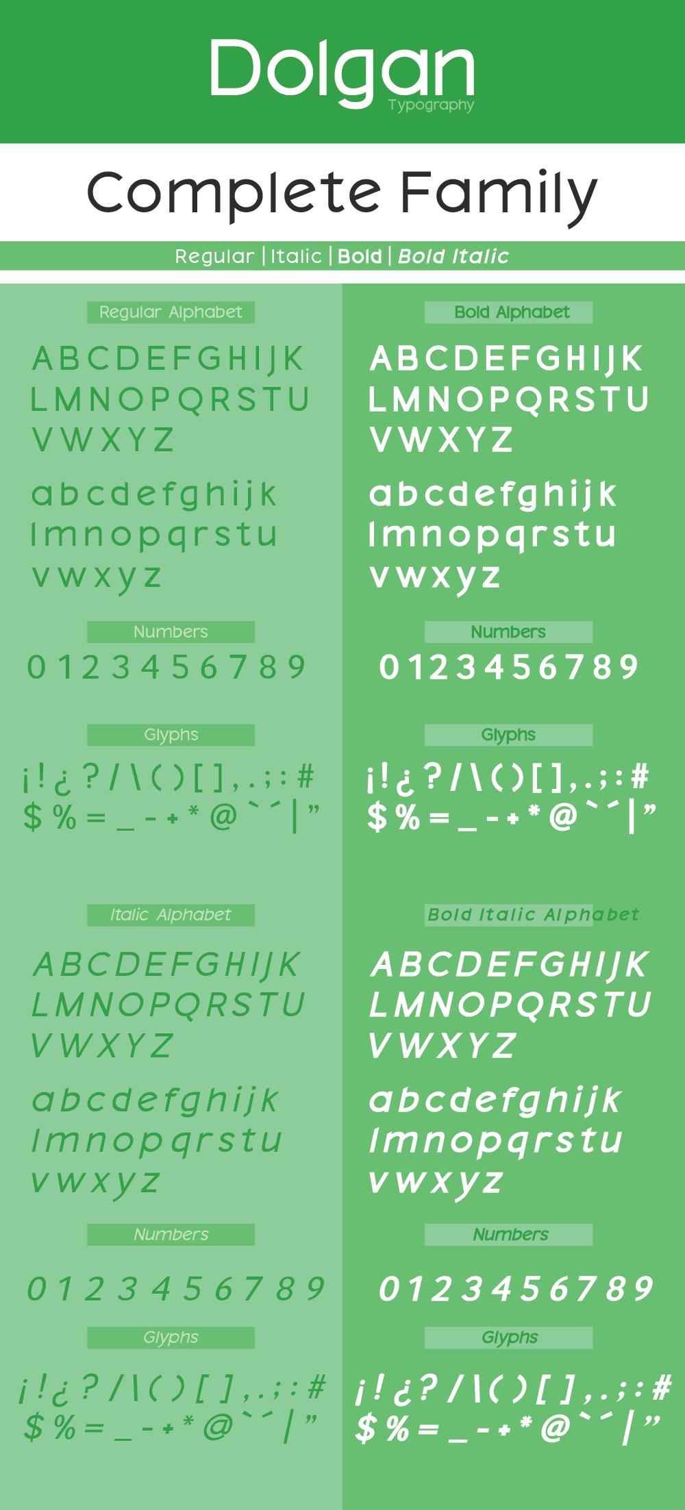 Dolgan Typeface example image 3