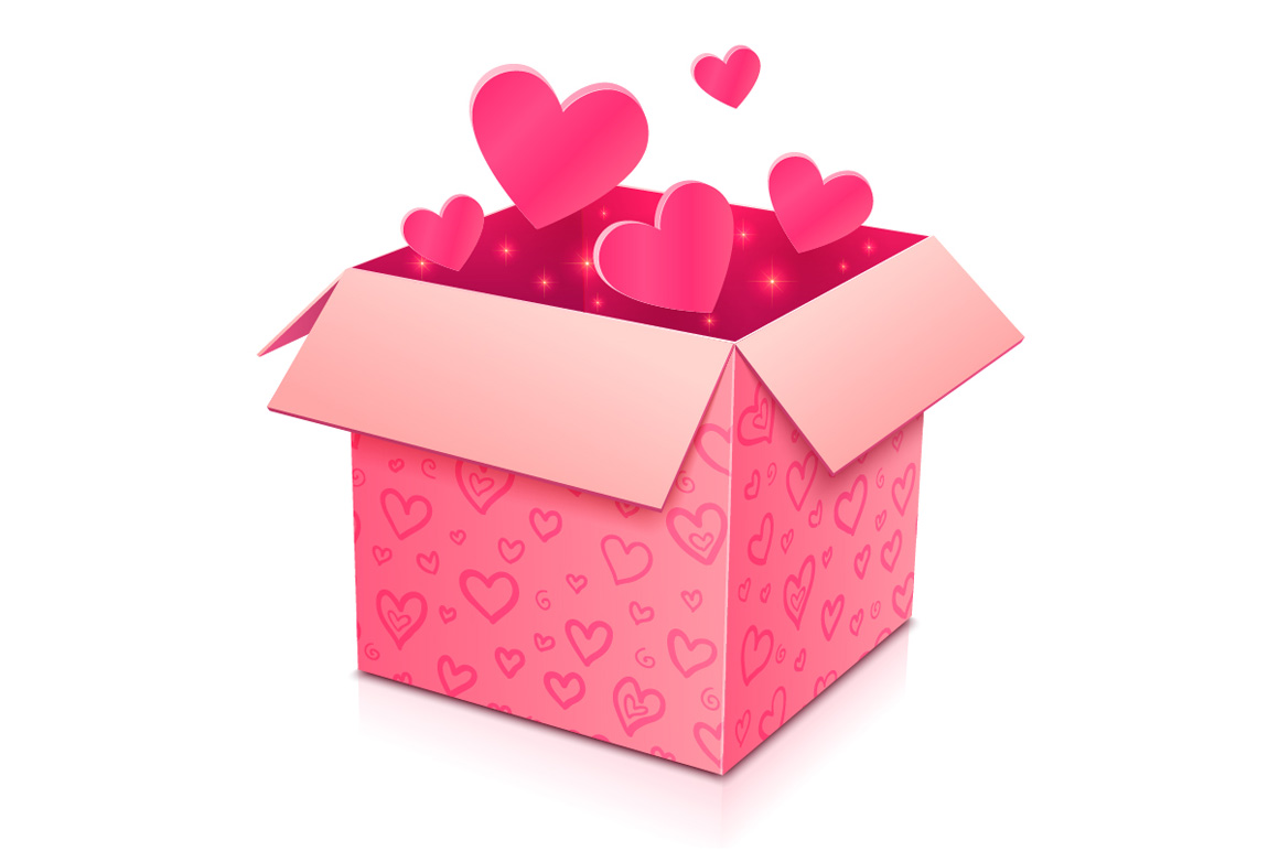 6 high quality vector gift boxes example image 2