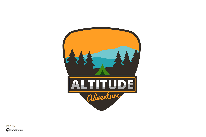 Altitude Adventure - Logo Template RB example image 1
