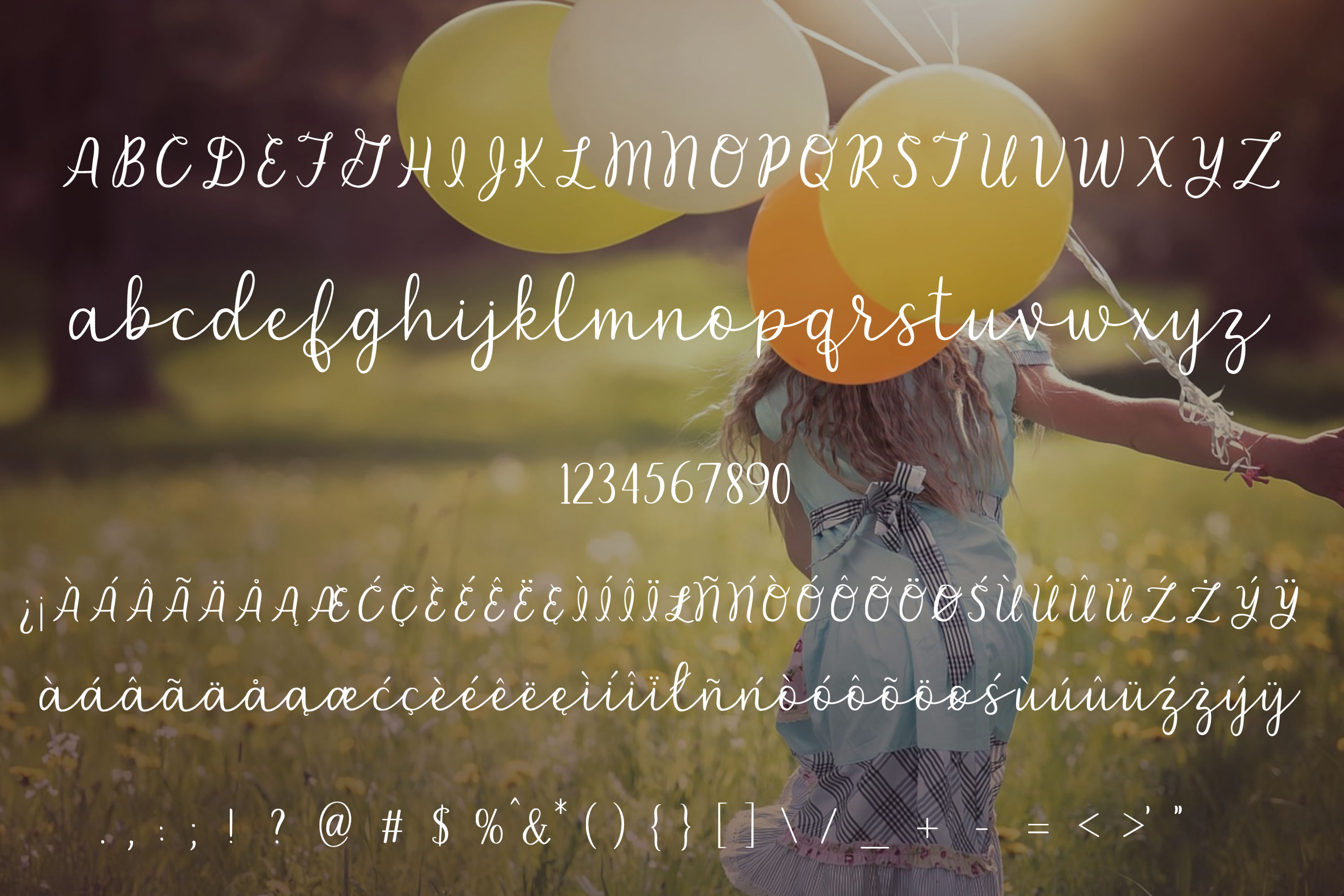 Carefree - A handlettered script font example image 2