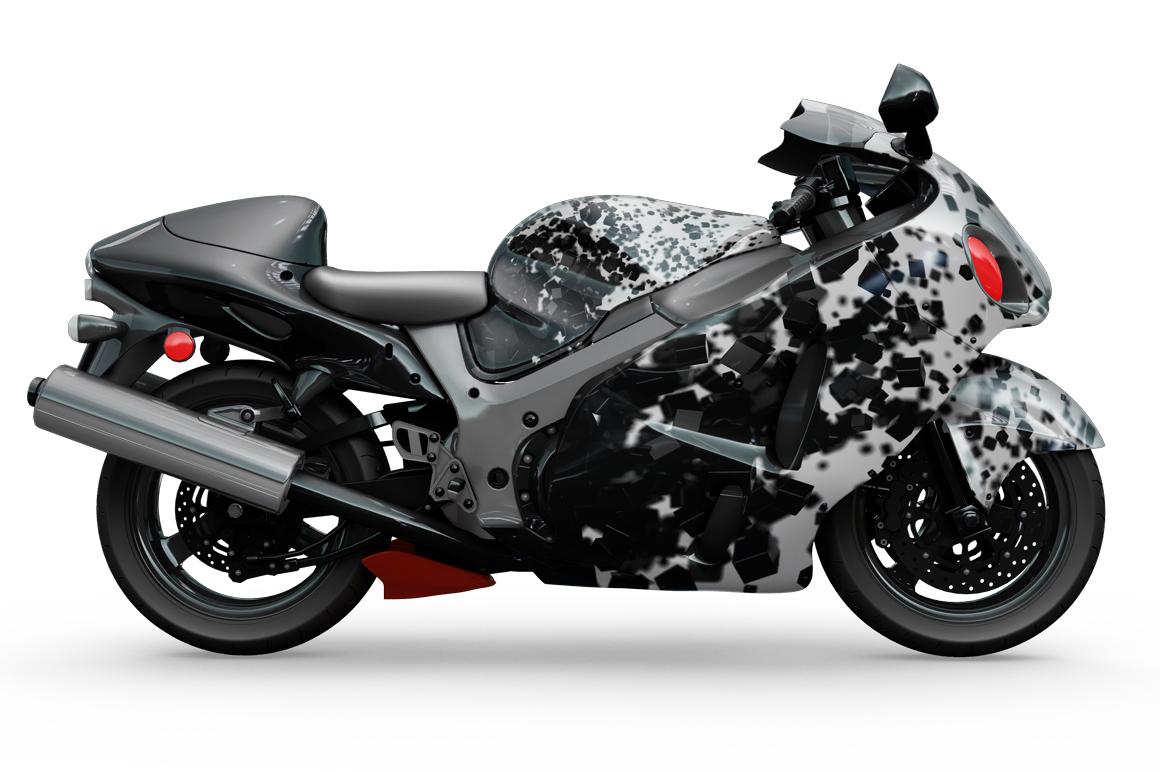 Motorcycle Mockup example image 8