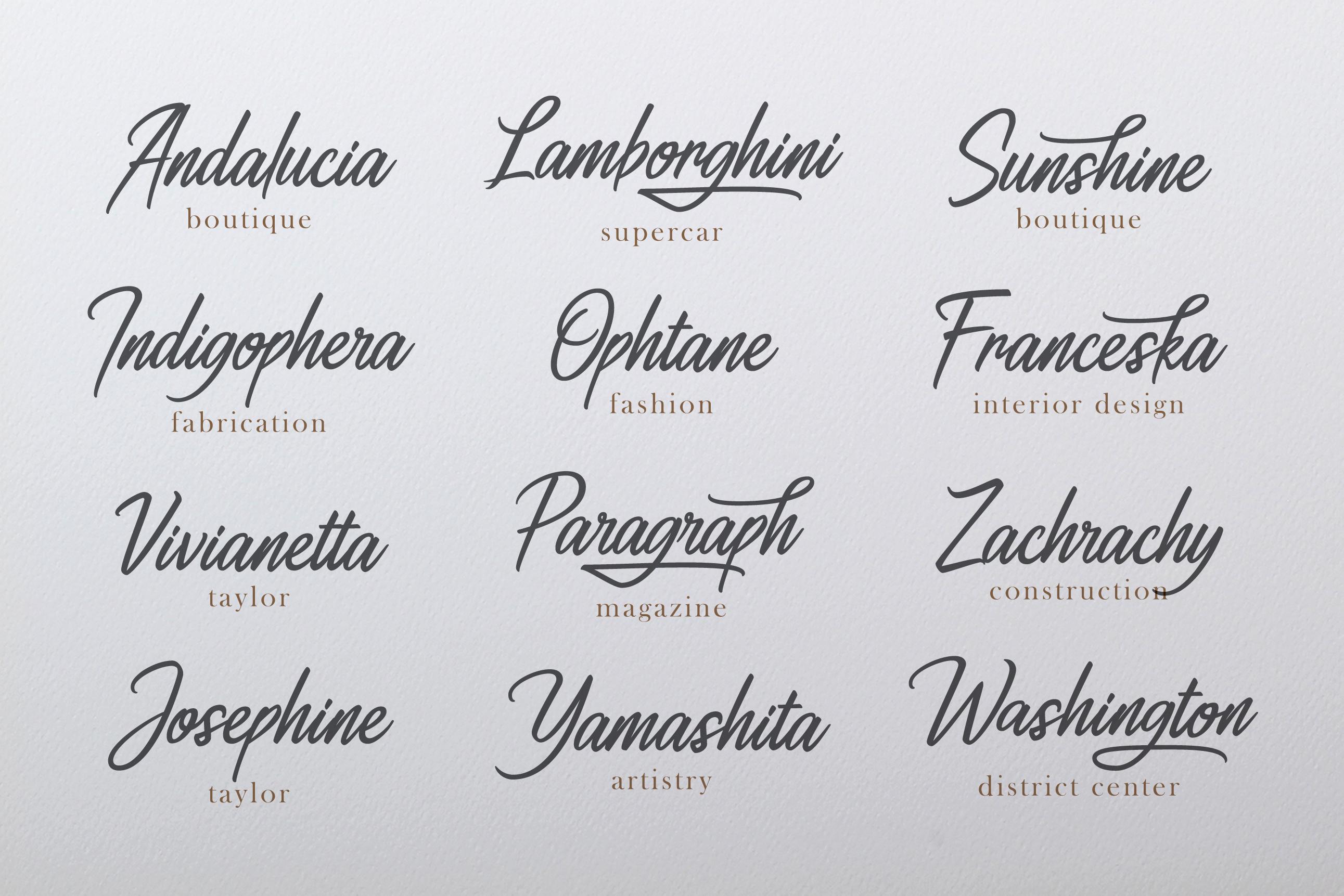 Ahtohalland elegant signature script example image 2