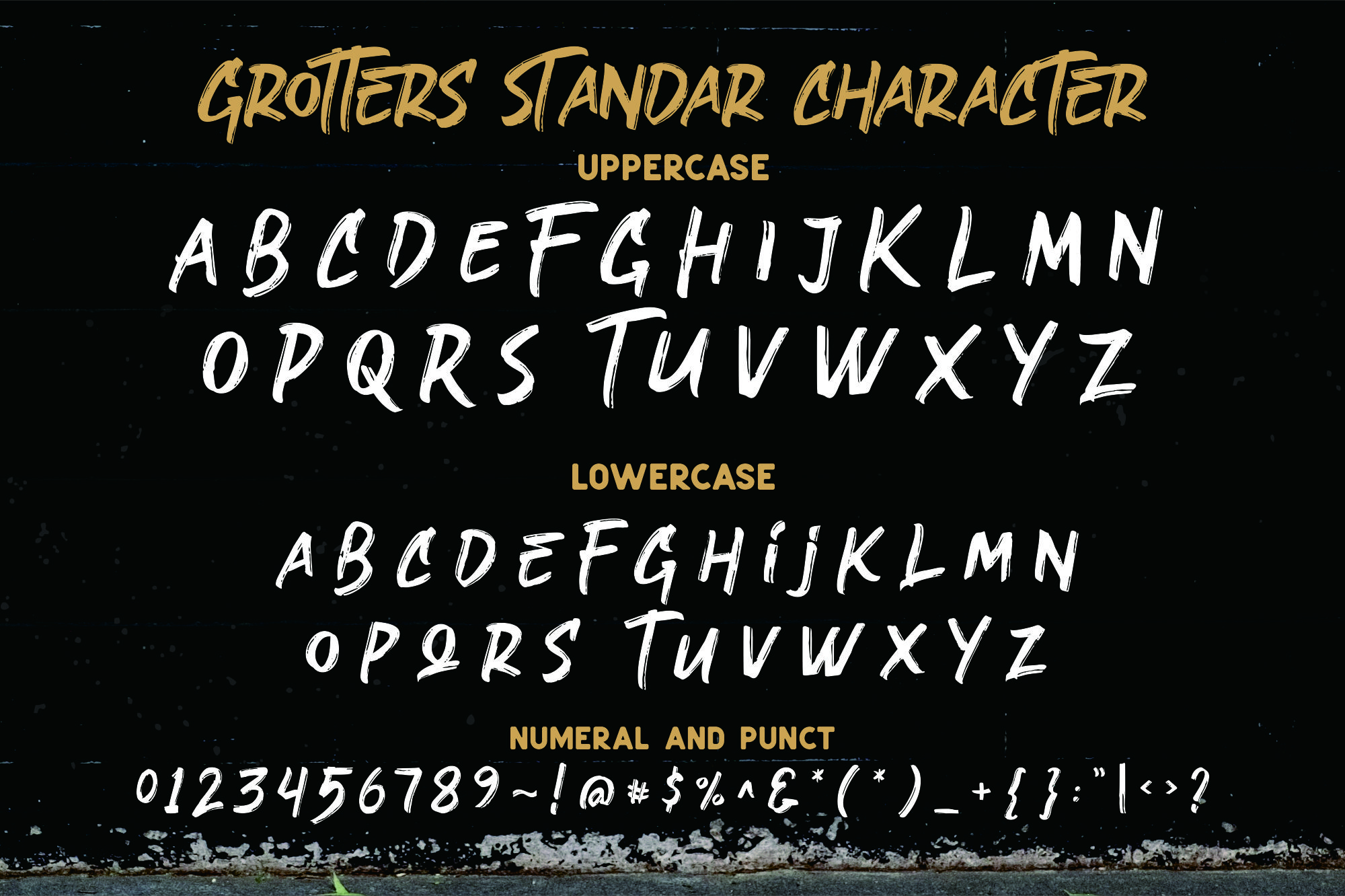 Grotters Urban Font example image 9