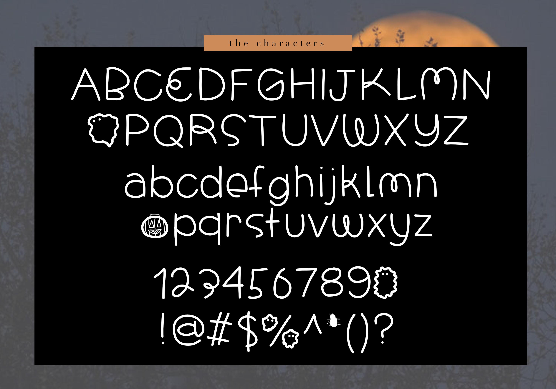 Halloween - A Spooky Handwritten Font example image 7