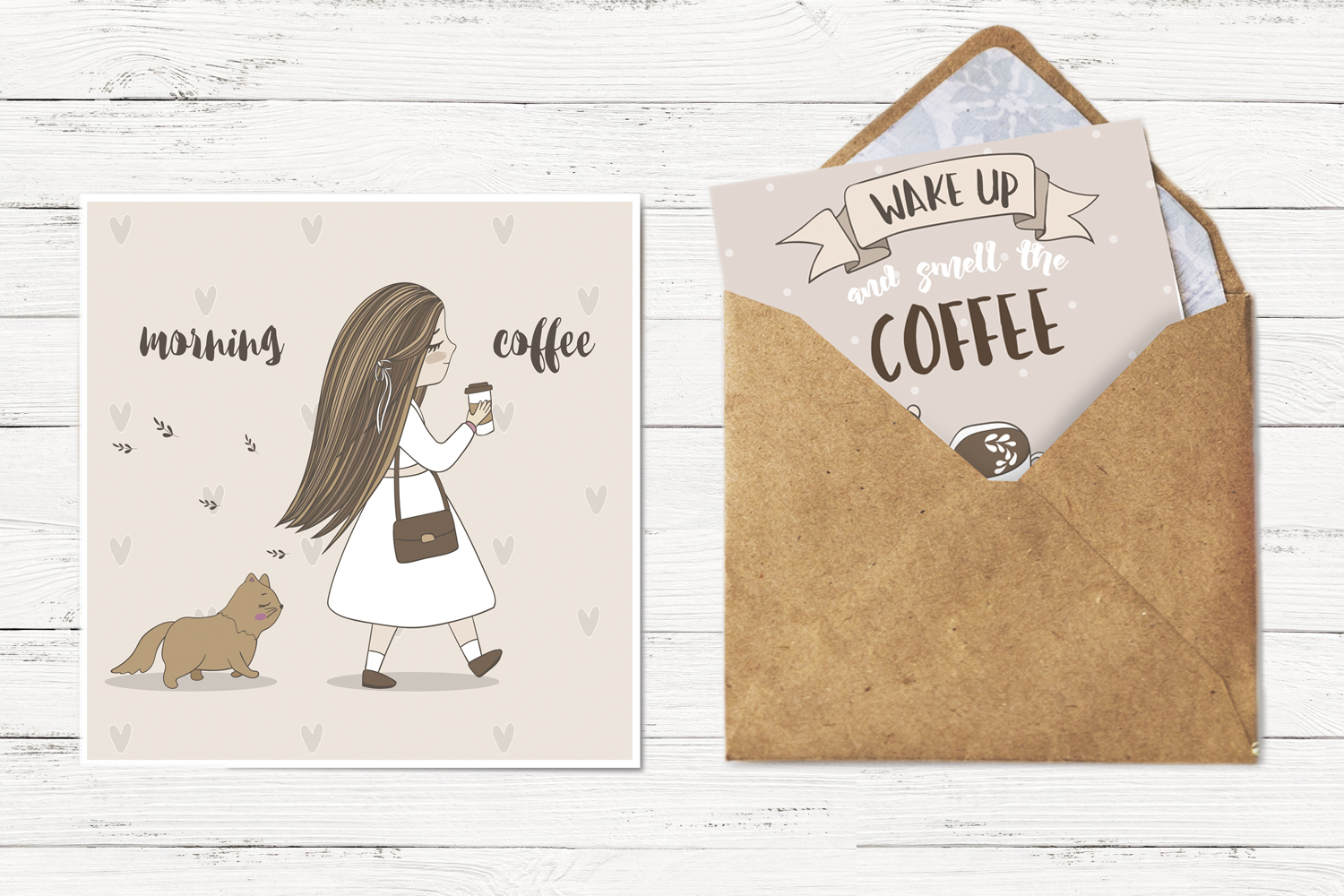 Cute coffee clipart example image 5
