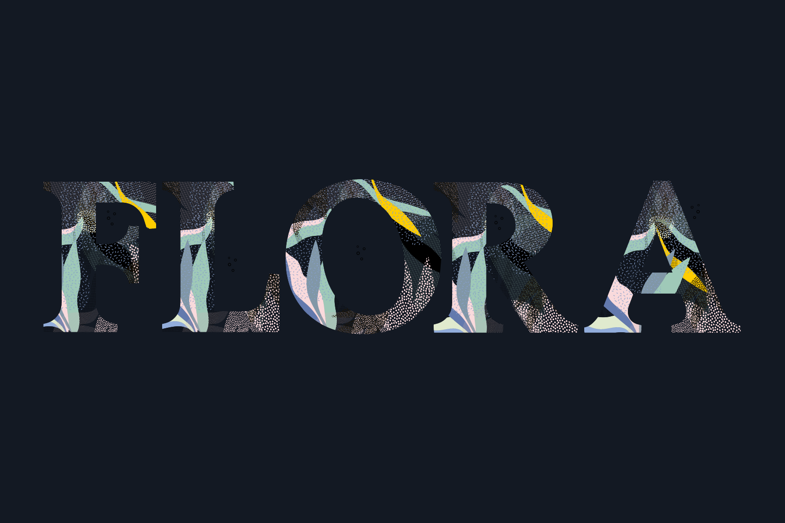 Flora Font example image 9