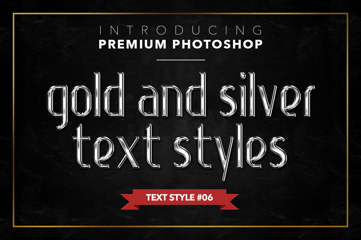 Gold & Silver #1 - 20 Text Styles example image 18